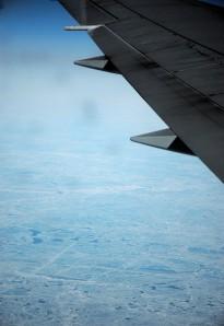 Arctic sea ice... er, puddles