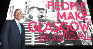 Councillor Matheson launches Glasgow's new marketing campaign