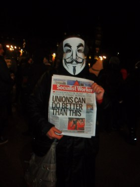 I bet Unite would've won the Grangemouth dispute if they'd had V FOR VENDETTA MASKS