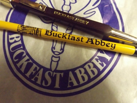 I went to Buckfast and all I got was this lousy biro