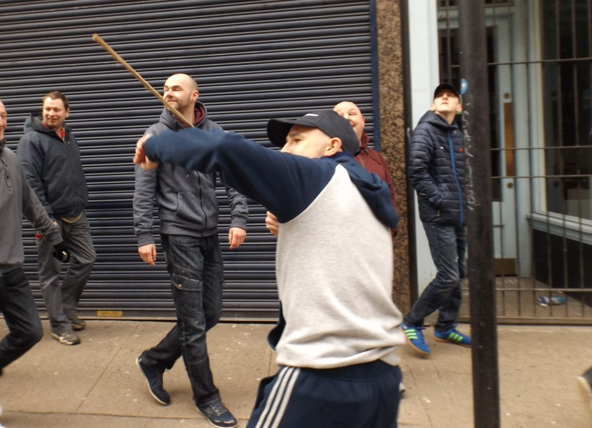 Scotland's Shame? Loyalist Bigots Hijack St Patrick's Day in Glasgow