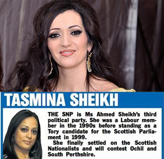 Tasmina ahmed-sheikh homosexuality