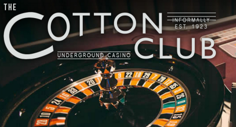 The logo of G1's Cotton Club